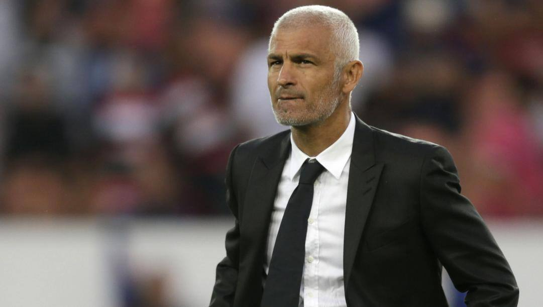 Fabrizio Ravanelli, oggi 52 anni, allenatore. Afp