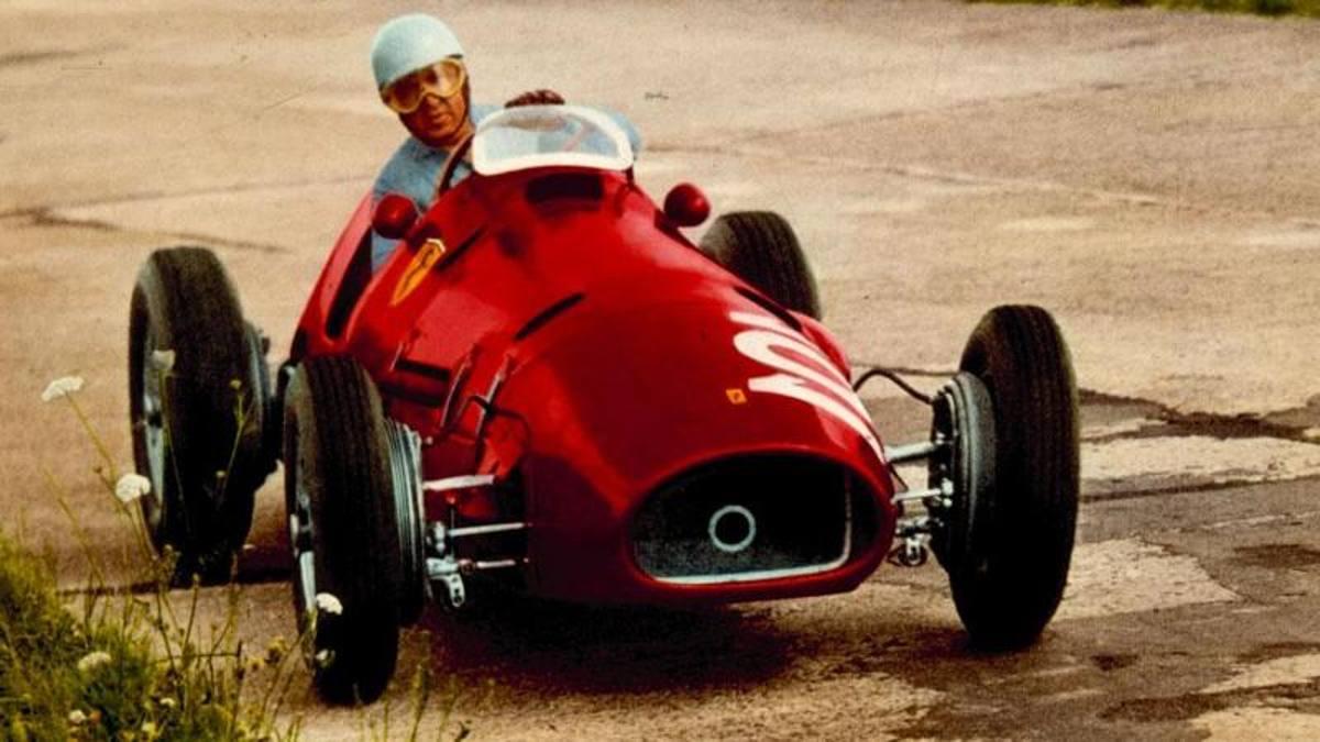 Waiting For The New Ferrari F1 All The Single Seaters From Maranello 1950 1959 Ruetir