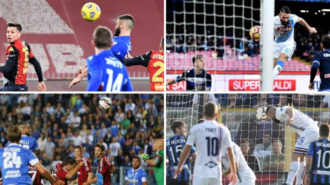 Samp, Napoli, Empoli: per Lorenzo Tonelli il gol di testa è quasi un vizio