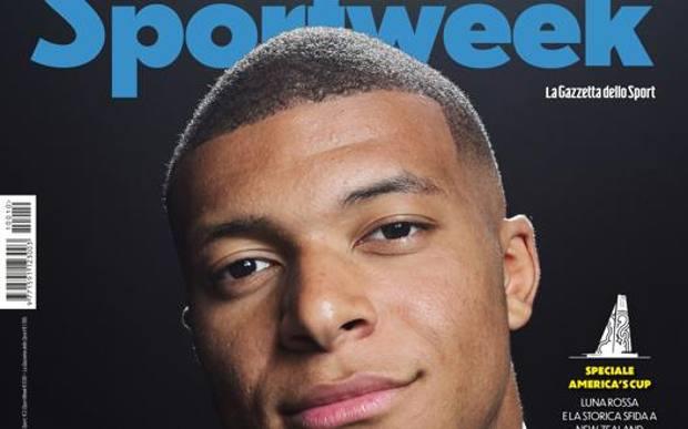 La copertina del prossimo numero di Sportweek