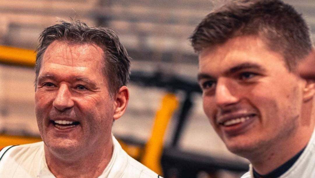 La foto postata da Max Verstappen su Instagram per il compleanno del padre Jos, 49 anni il 4 marzo