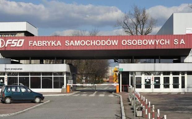 La storica fabbrica del marchio polacco Fso a Varsavia