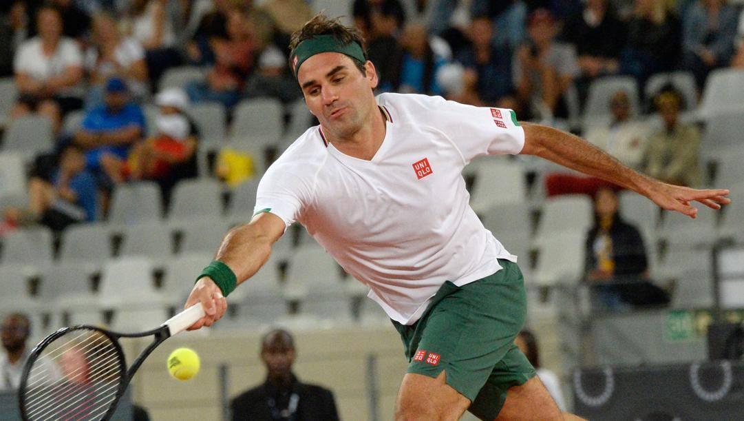 Roger Federer, 39 anni. Afp