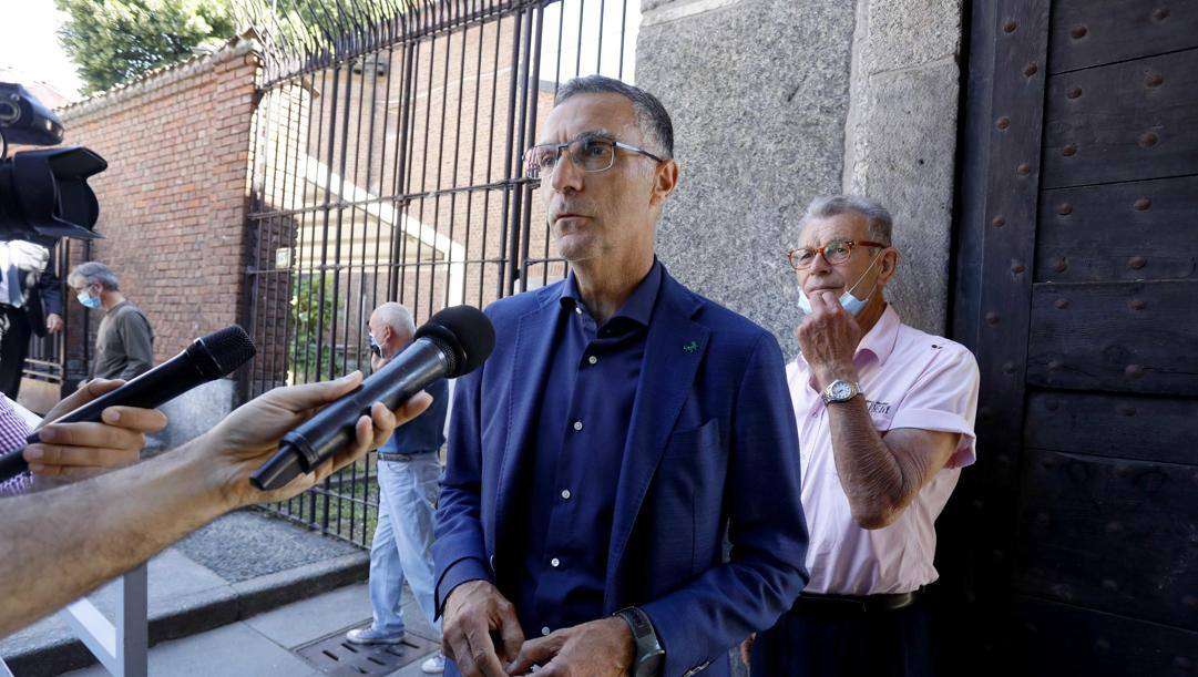 Beppe Bergomi, ex difensore dell'Inter. Ansa