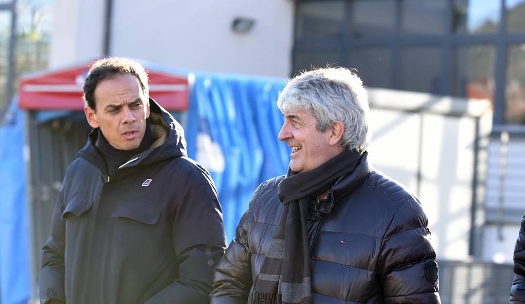 Paolo Rossi (a destra) in una foto del 2018. LaPresse