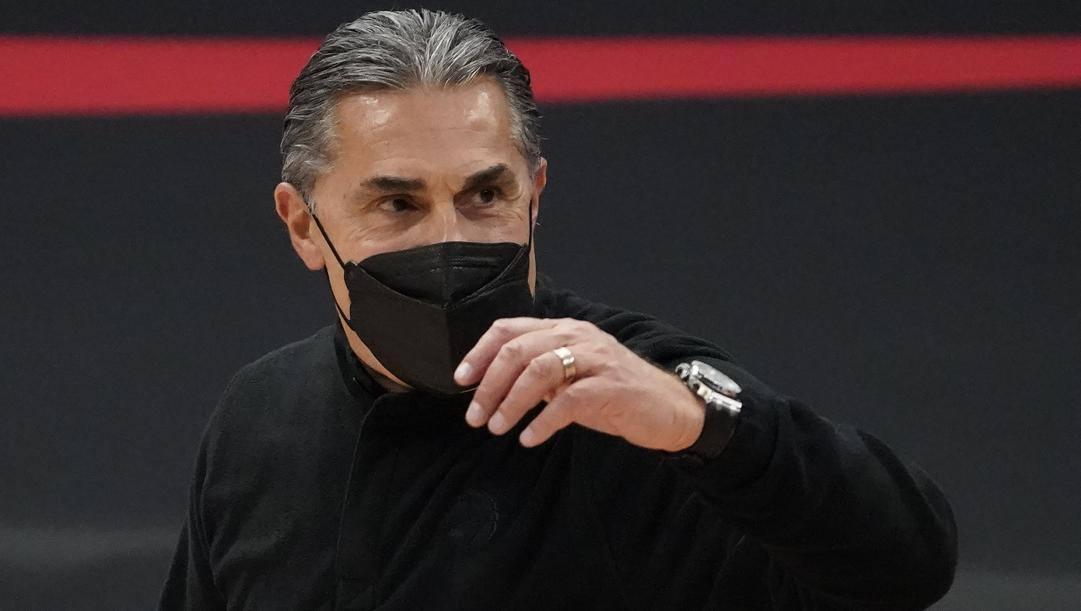 Sergio Scariolo, 59 anni, è alla terza stagione da assistant coach dei Toronto Raptors. Ap