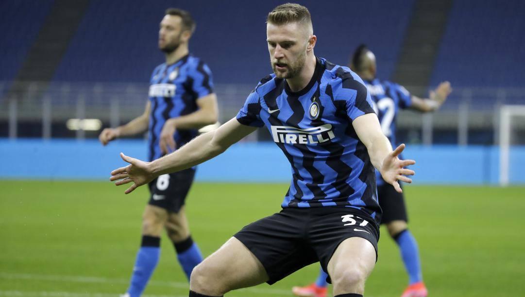 Skriniar e la difesa dell'Inter stanno fermando tutto. Ap