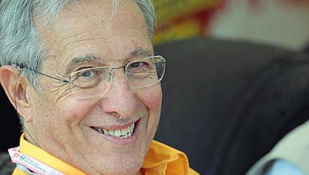 Mauro Forghieri, 86 anni, ex d.t. della Ferrari