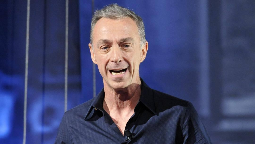 Linus, conduttore radiofonico e tifoso della Juventus. Lapresse