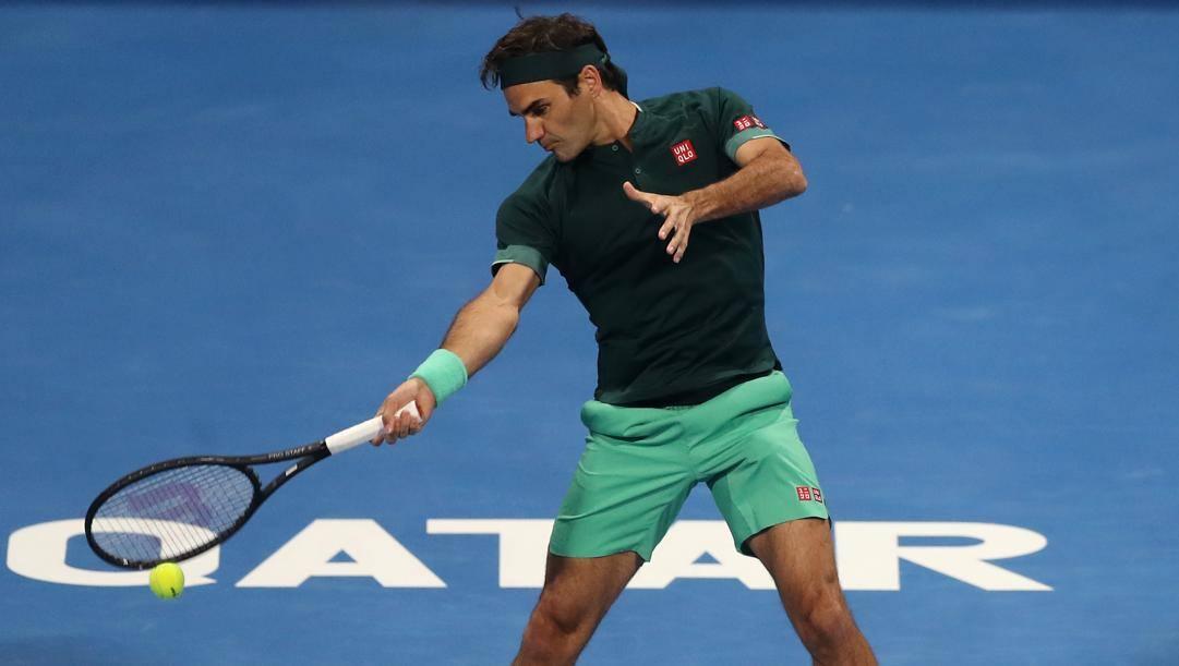 Roger Federer. Getty
