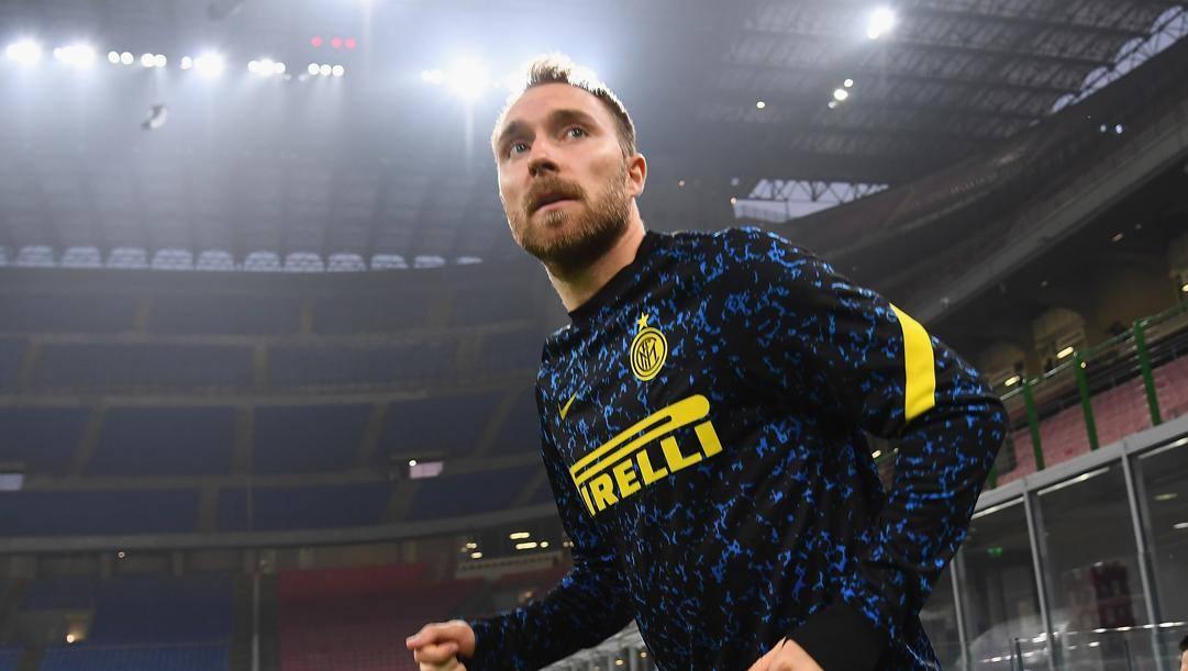 Christian Eriksen (29 anni), seconda stagione all'Inter. GETTY IMAGES