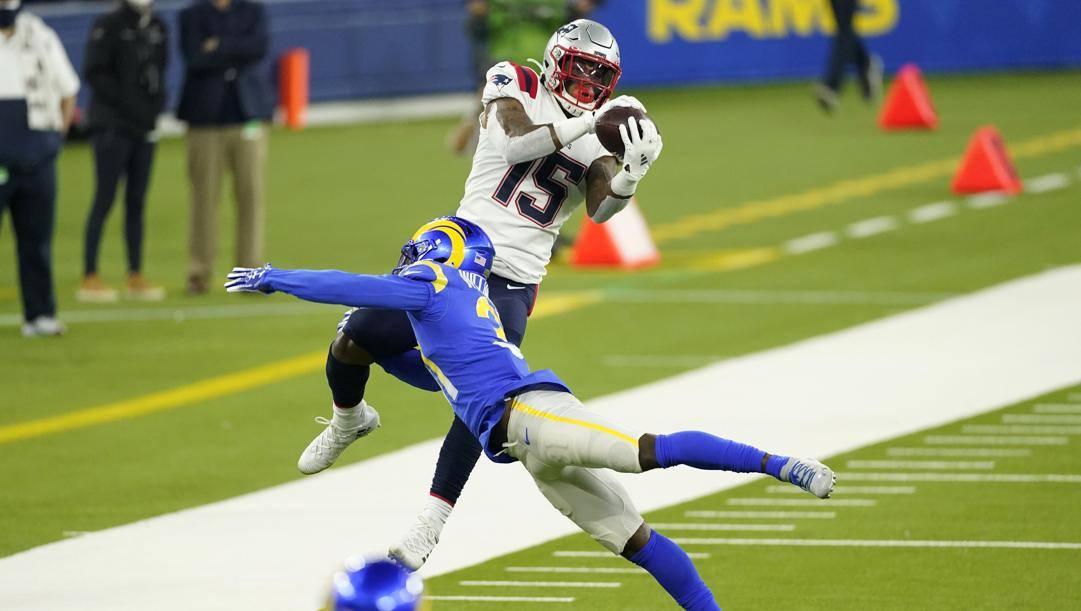 Il Super Bowl del 2019 vinto dai Patriots sui Rams AP