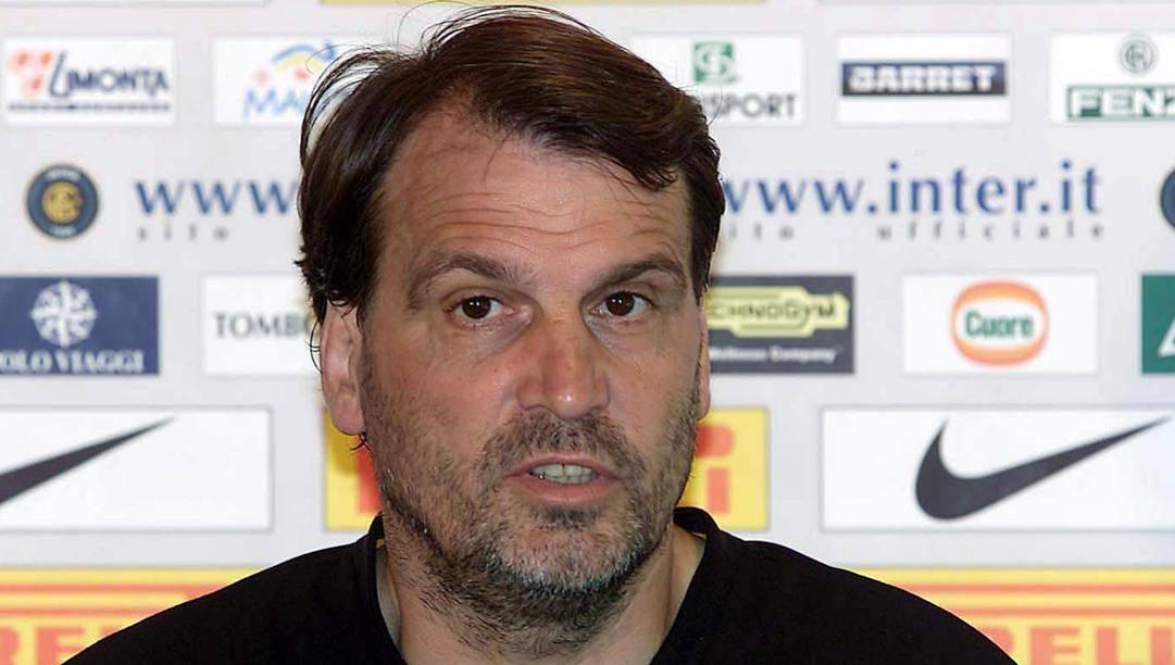Marco Tardelli ai tempi dell'Inter. Ap