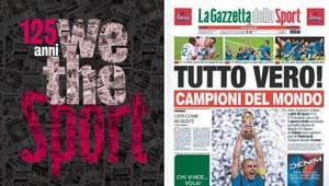 La Gazzetta Compie 125 Anni La Tua Foto In Prima Pagina Con Wethesport La Gazzetta Dello Sport