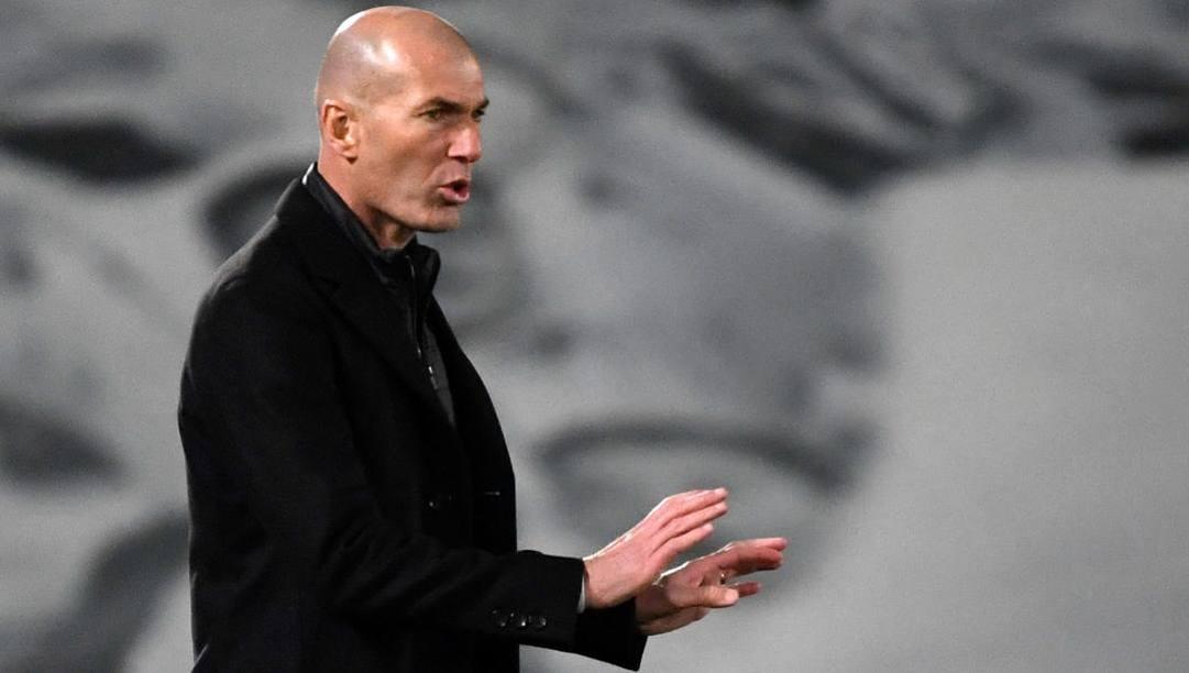 Zinedine Zidane, 48 anni. Afp