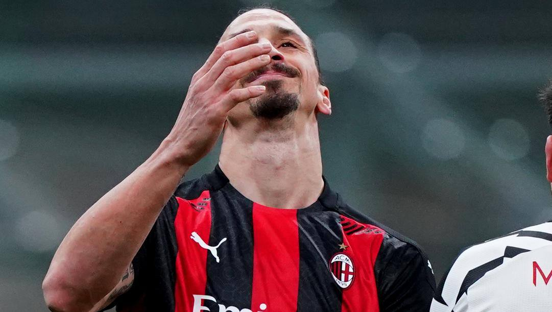 Zlatan Ibrahimovic, 39 anni. LaPresse