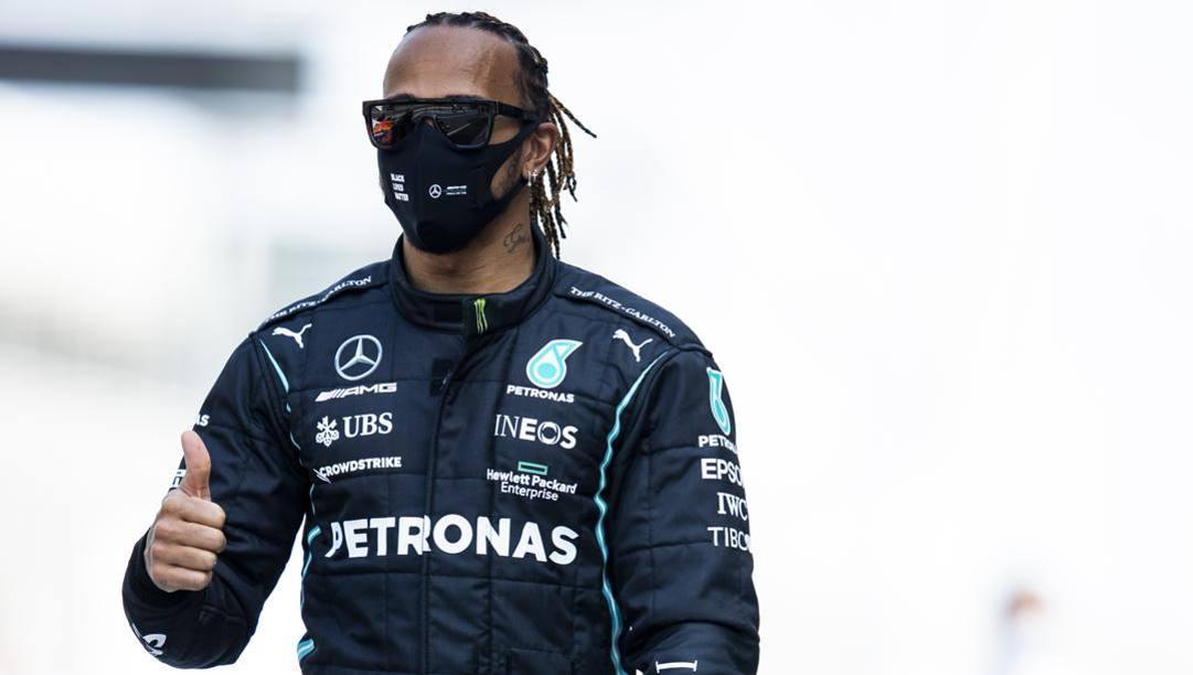 Lewis Hamilton, 36 anni. Getty