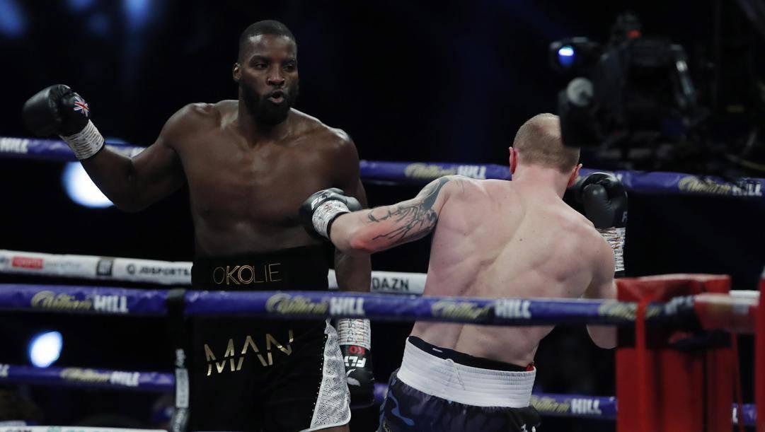 Lawrence Okolie sul ring