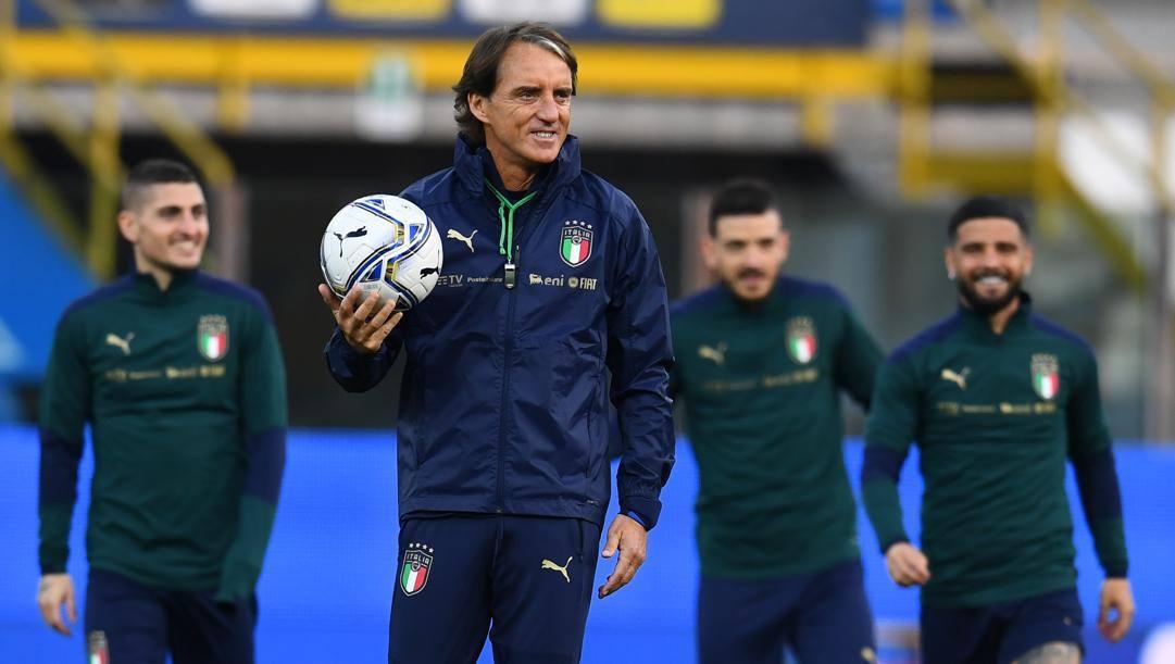 Il c.t. Roberto Mancini, 55 anni. Getty Images