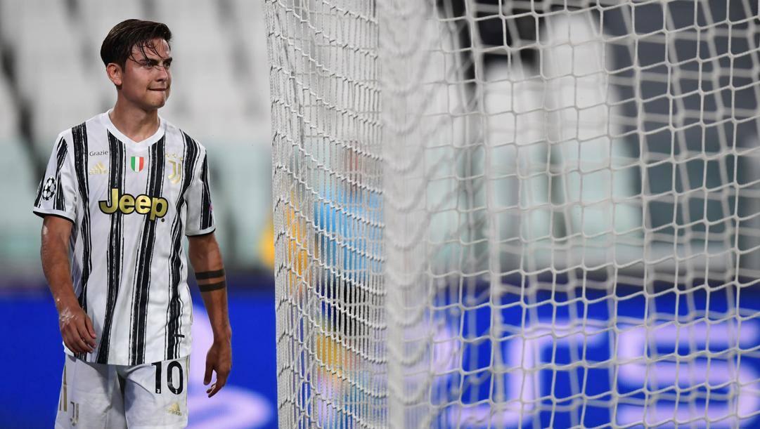 Paulo Dybala in bianconero. Afp