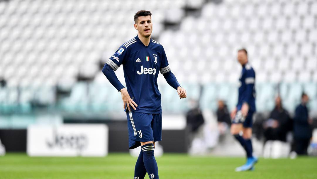Alvaro Morata (28 anni), 16 gol in stagione con la Juventus. Getty Images