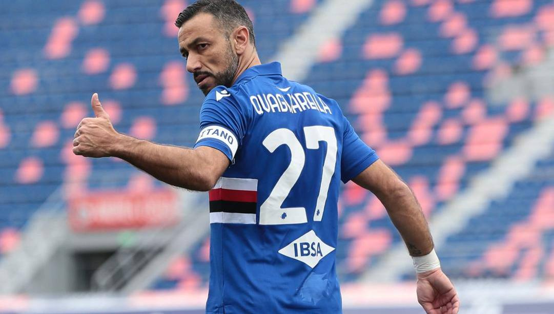 Fabio Quagliarella, 38 anni. Ansa