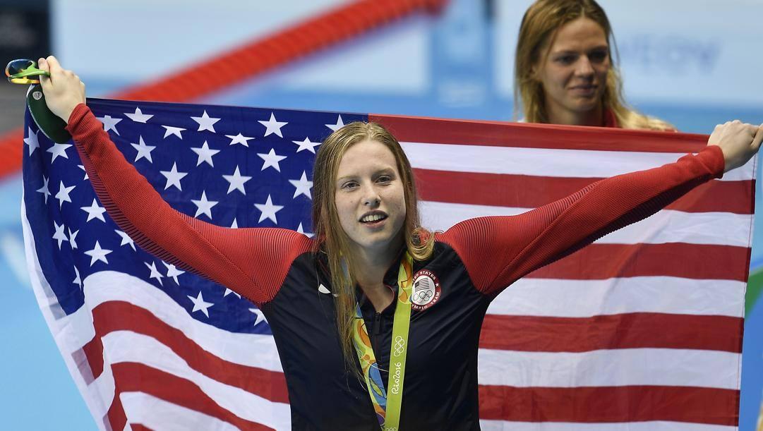 Lilly King, oro olimpico nel 2016. Ap