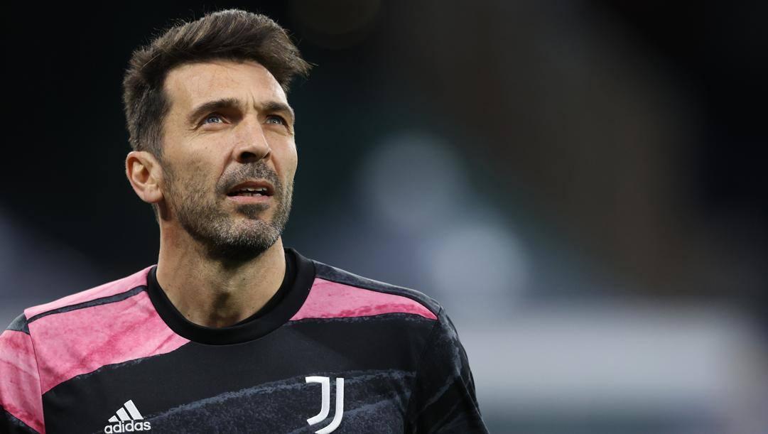 Gianluigi Buffon (43 anni), 10 presenze in stagione con la Juventus. LaPresse