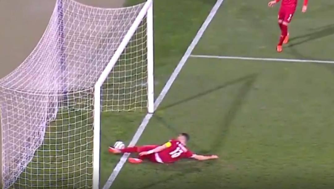 Il gol di Cristiano Ronaldo non visto dall'arbitro