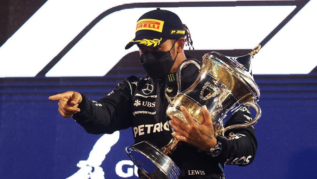 Lewis Hamilton, 36 anni. AFP
