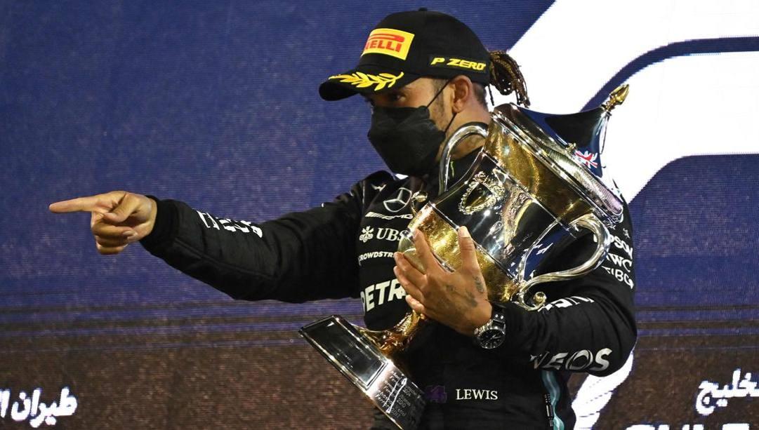 Lewis Hamilton, vittoria n. 96 in F.1. Afp