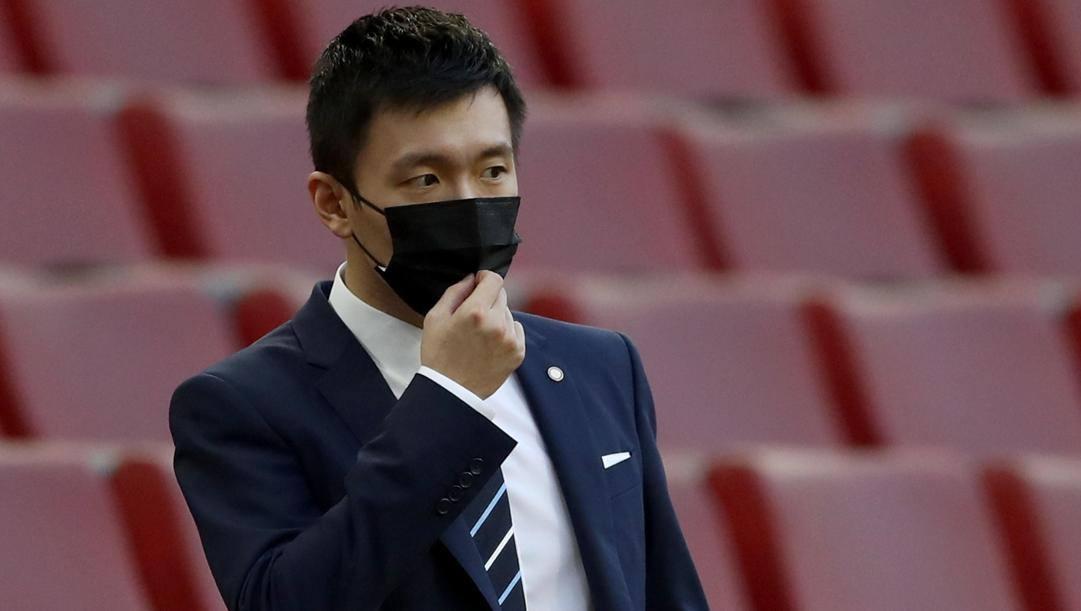 Steven Zhang, 29 anni, presidente dell'Inter (EPA)