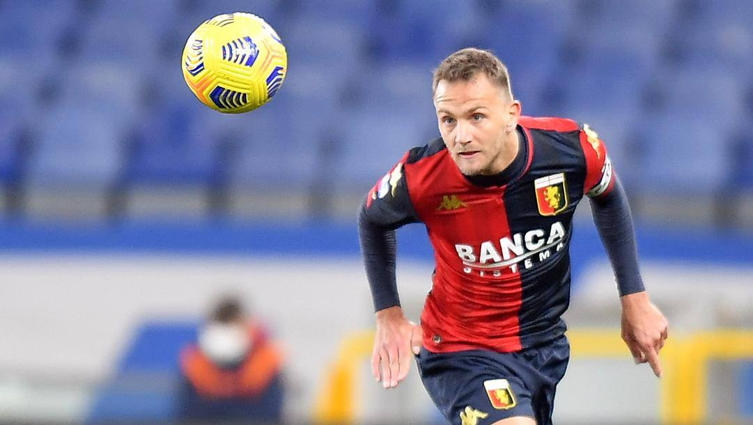 Domenico Criscito, 34 anni, è per la 4ª volta al Genoa. Lapresse