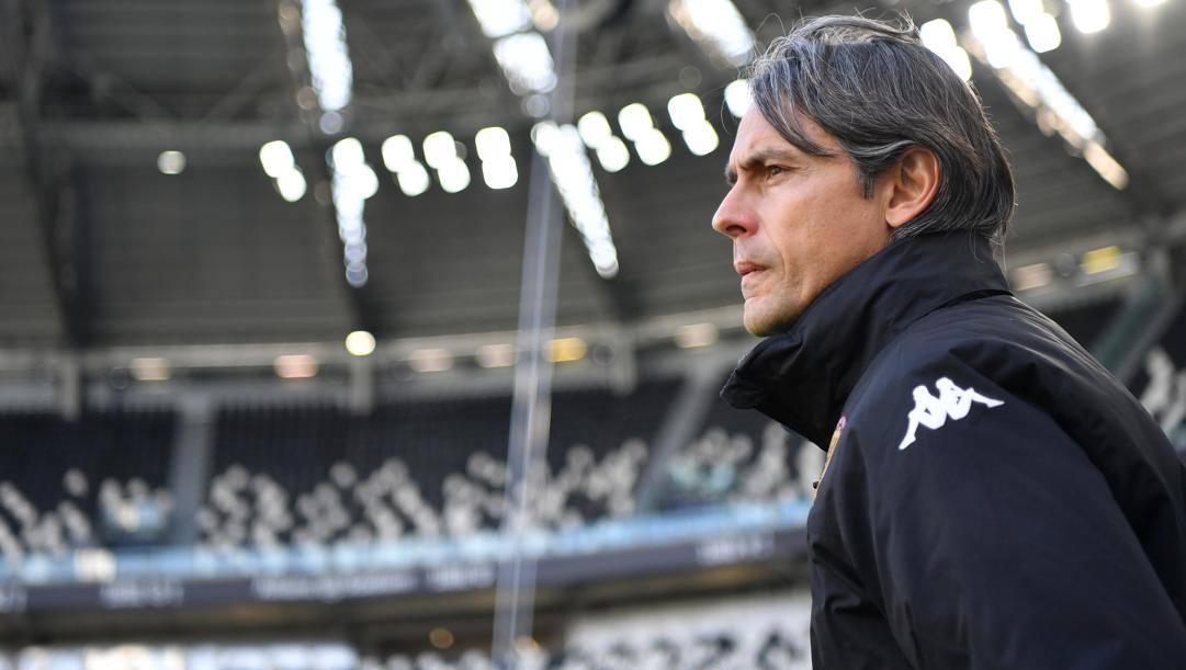 Filippo Inzaghi (47 anni), con il suo Benevento ha 7 punti di vantaggio sulla zona retrocessione. Getty Images
