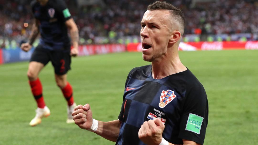 Ivan Perisic (32 anni): con la Croazia 99 presenze e 27 gol realizzati dal 2011. GETTY IMAGES