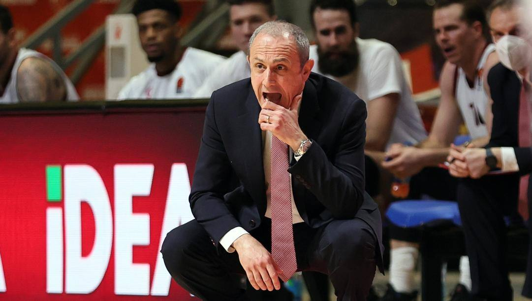 Ettore Messina, 61 anni. Getty Images