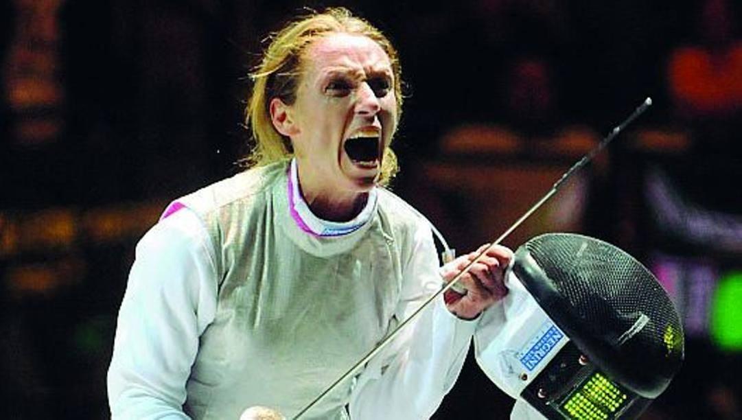 Valentina Vezzali, 47 anni, ha vinto 6 ori, un argento e 2 bronzi olimpici in carriera. Epa
