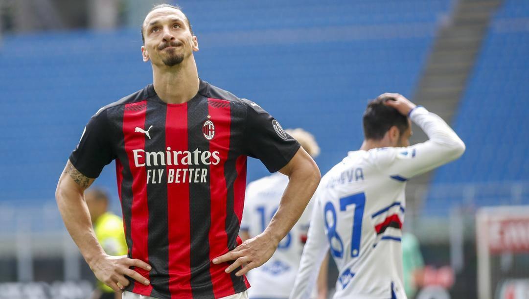 Zlatan Ibrahimovic, 39 anni. Ap