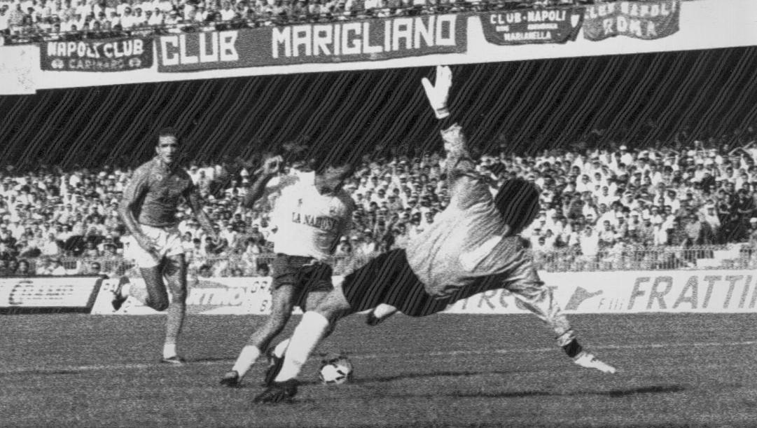 Il gol di Baggio al Napoli dopo una cavalcata lunghissima (ANSA)