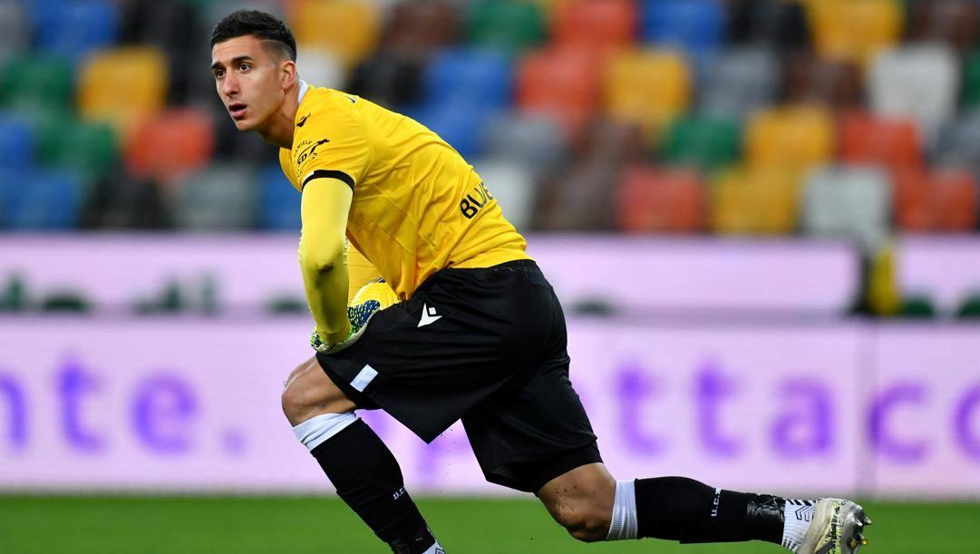 Juan Musso (26 anni), portiere dell'Udinese. Per lui sarà asta. Getty Images