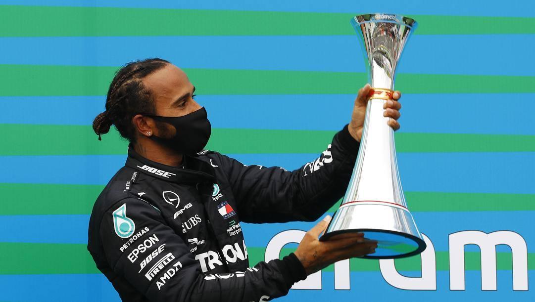 Lewis Hamilton, campione del mondo in carica. Getty