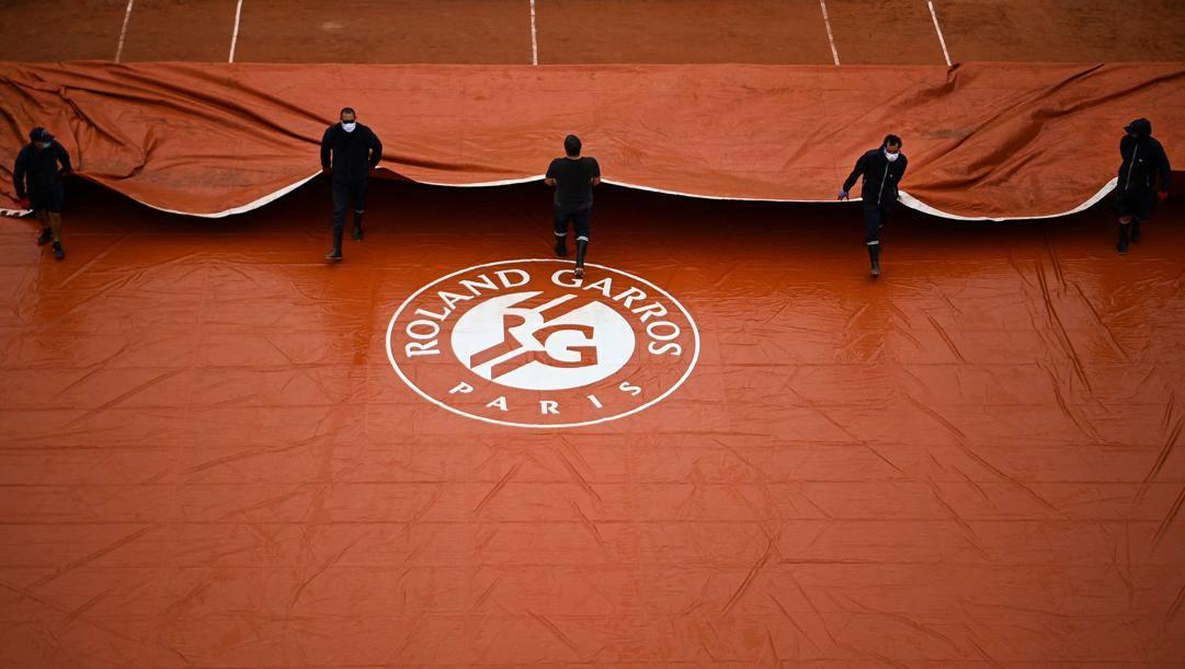 Il Roland Garros autunnale del 2020. AFP