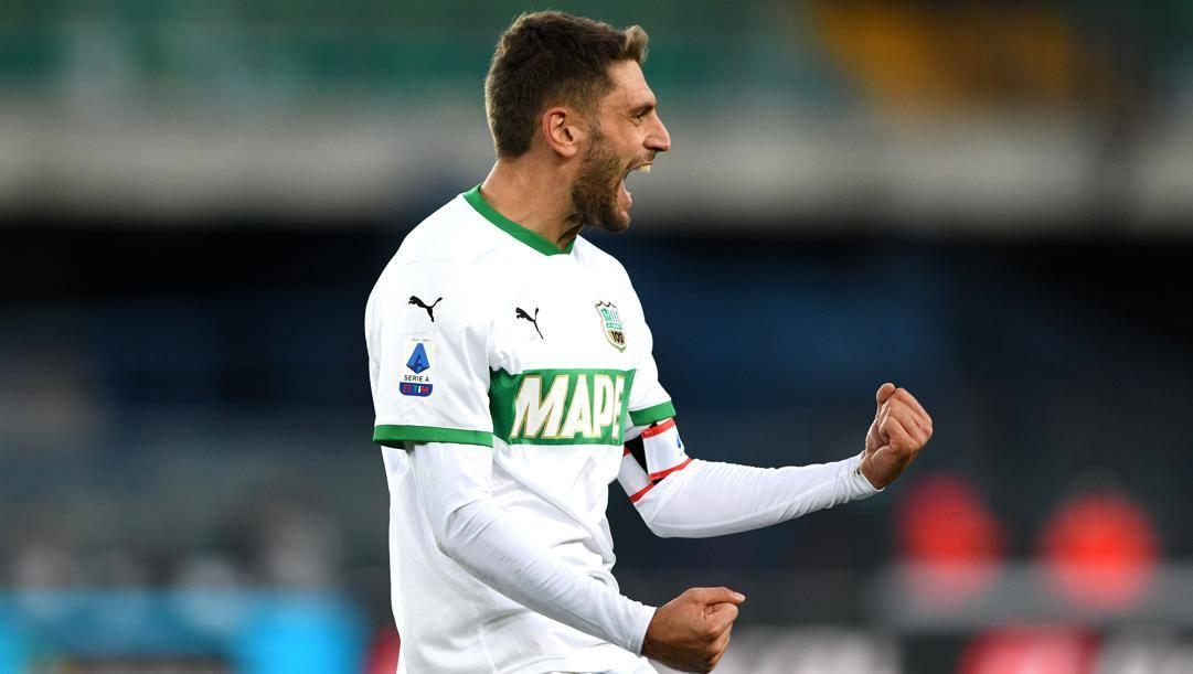 Domenico Berardi (26 anni), 11 gol in stagione. Getty Images