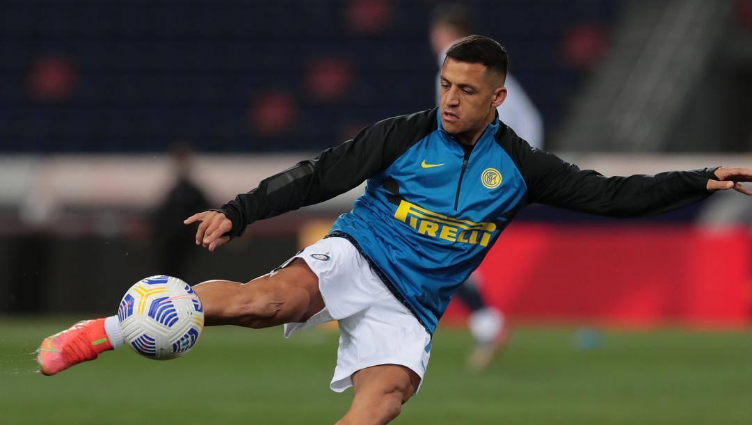 Alexis Sanchez (32 anni), seconda stagione all'Inter: per lui quest'anno 5 gol e 6 assist in 22 presenze in Serie A. Getty