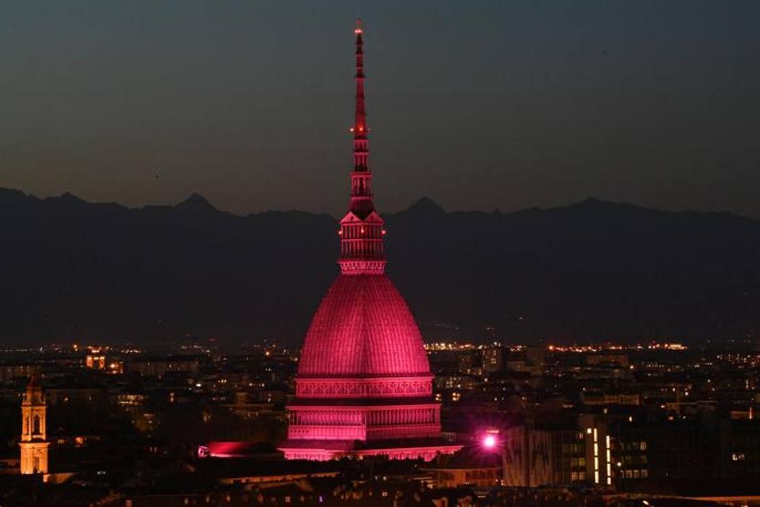 TORINO : la Mole Antonelliana - 1a tappa, sabato 8 maggio