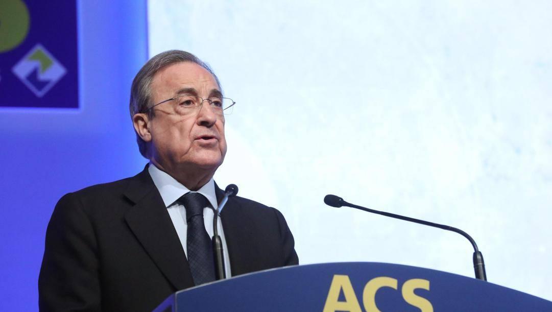 Florentino Perez, presidente del Real Madrid. Epa