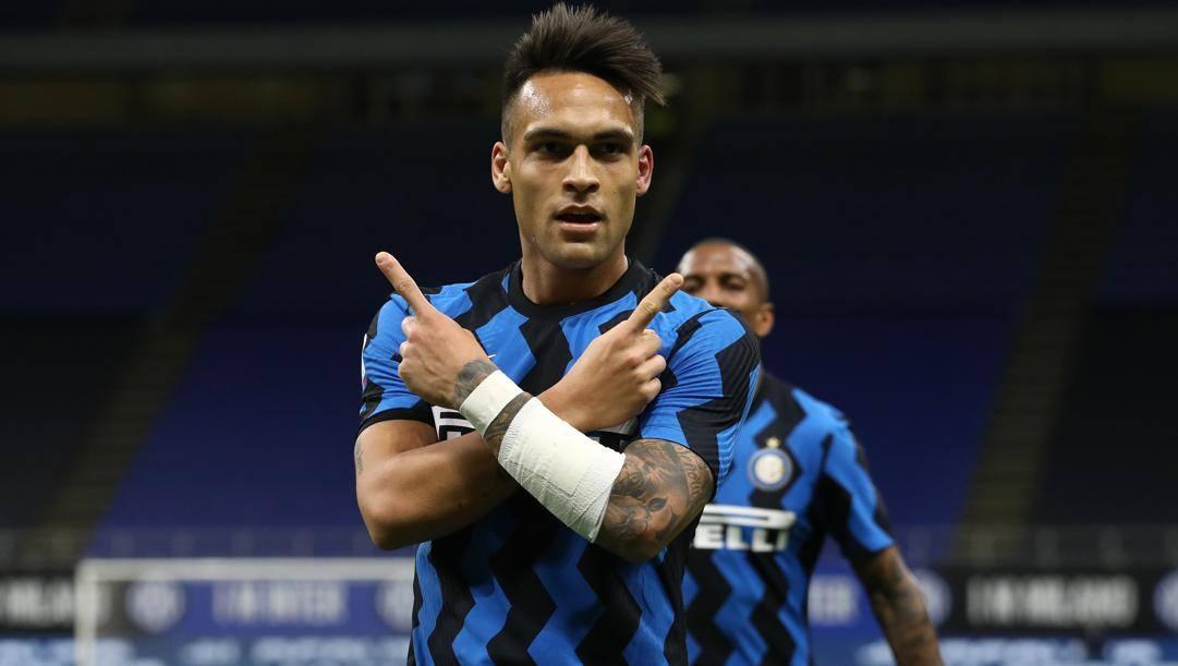Lautaro Martinez (23 anni), attaccante dell'Inter e della nazionale argentina. Getty