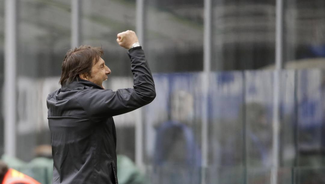 Antonio Conte, allenatore dell'Inter. Ap