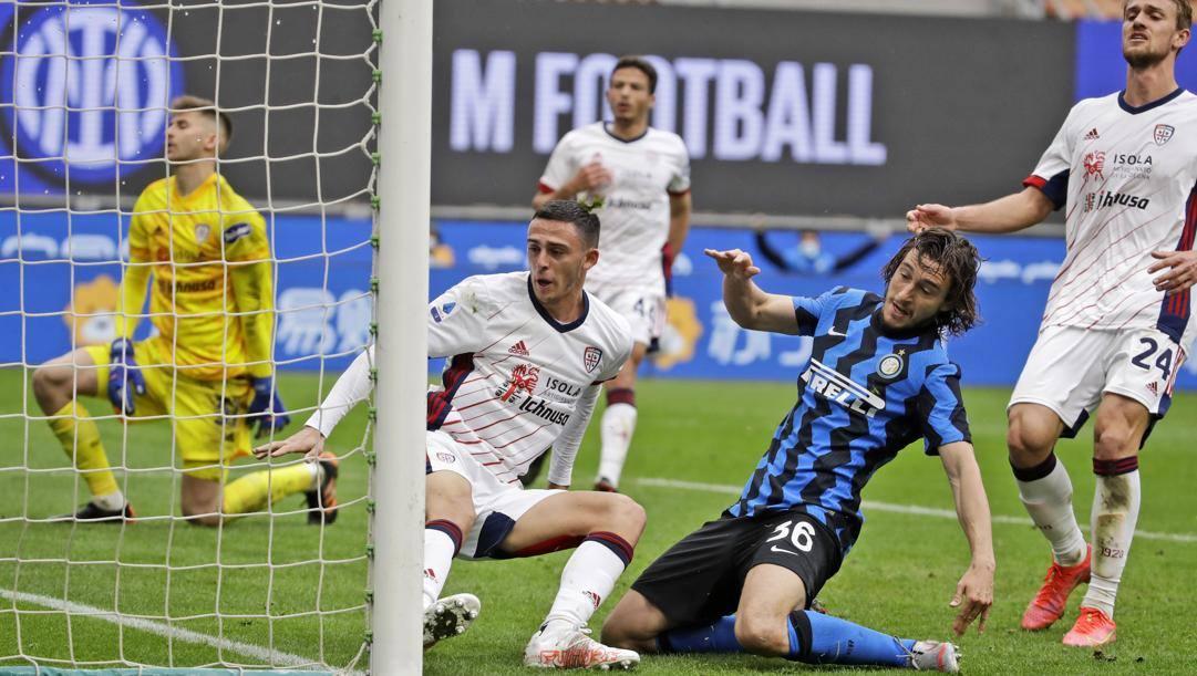 Il gol partita di Darmian. Ap