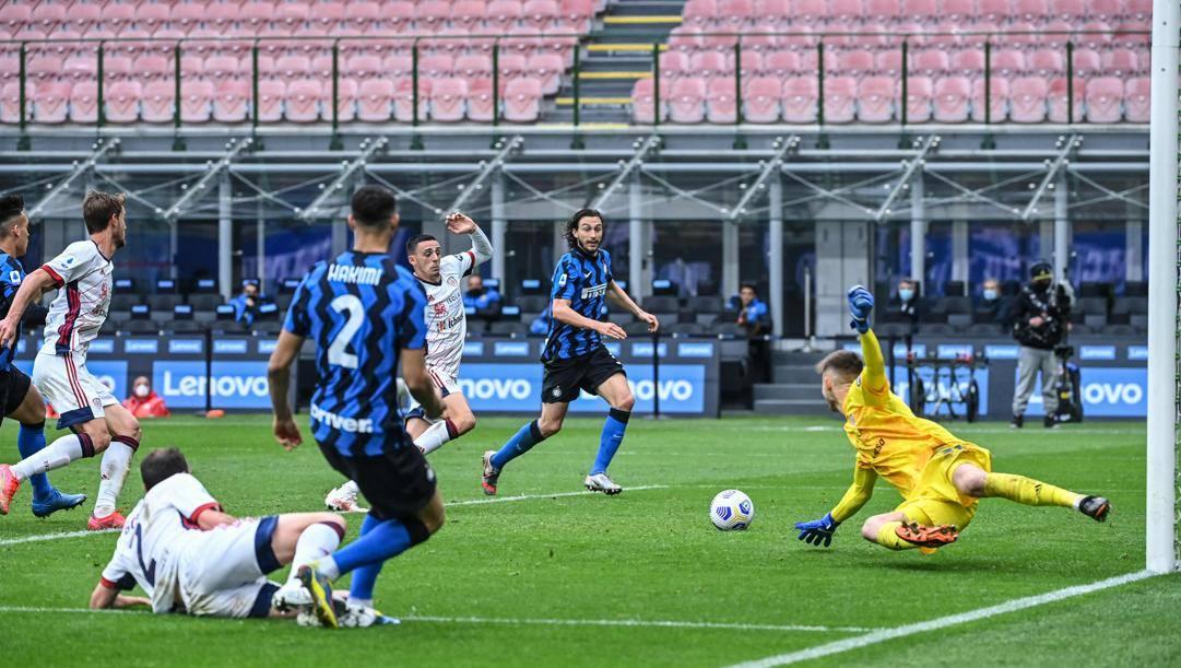 Il gol di Darmian. Afp